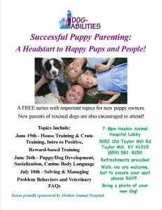 Informational Dog Sessions_June